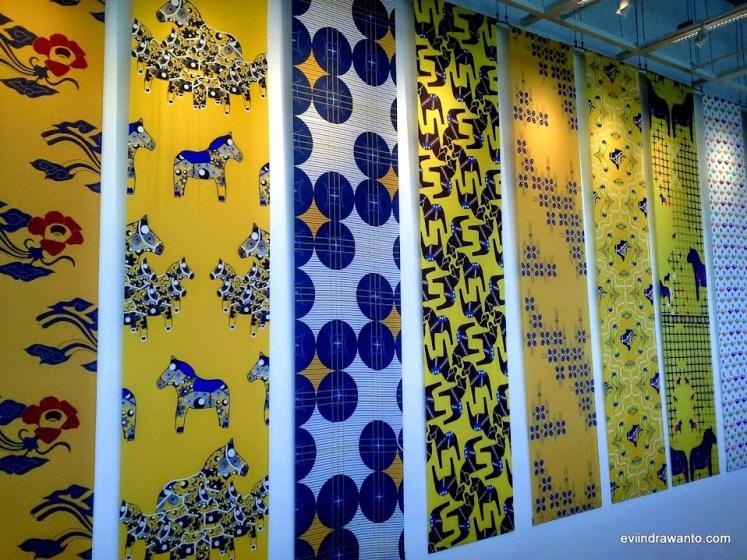 motif batik ikea
