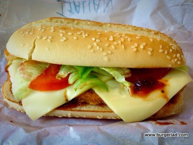 Burger King Italian Chicken Royale