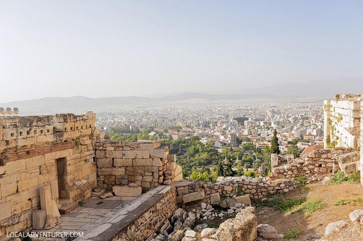 The Propylaea Athens.