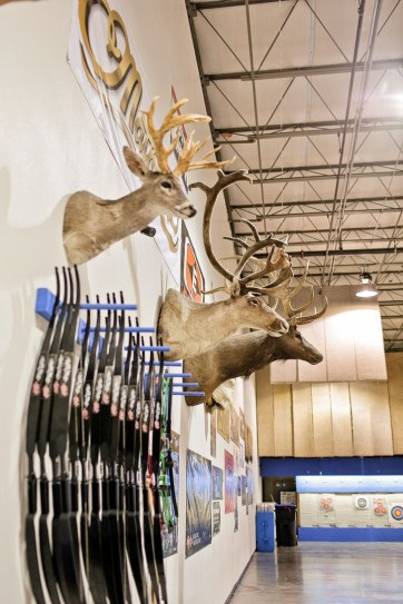 Archery Lessons with Impact Archery Las Vegas.
