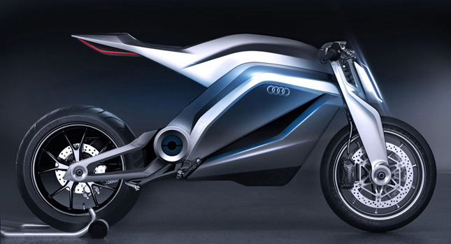 First Audi Motorcycle Designed by Thibault Devauze