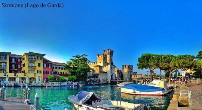 Ruta por la Toscana y norte de Italia. Sirmione