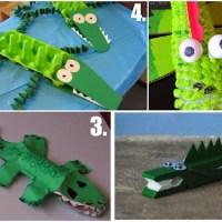 Jak vyrobit krokodýla (Crocodile craft)