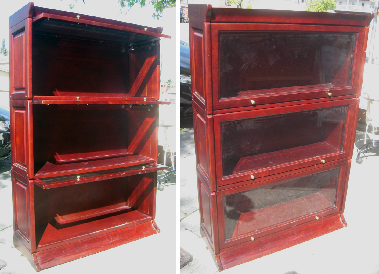 Uhuru Furniture Collectibles Sold Barrister Bookcase 120