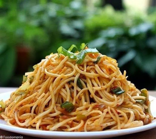 schezwan fried noodles recipe
