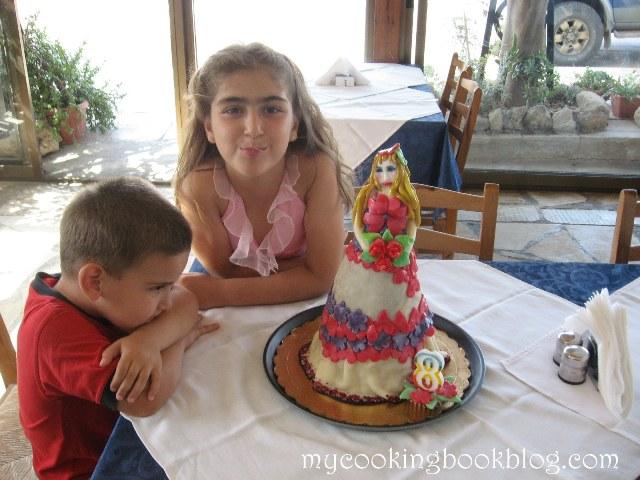 Торта Кукла