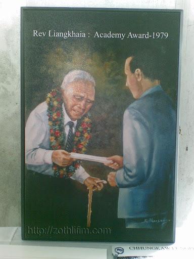 Rev. Liangkhaia Academy Award