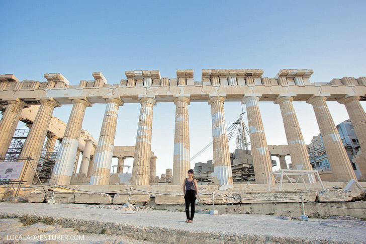 The Parthenon Greece.