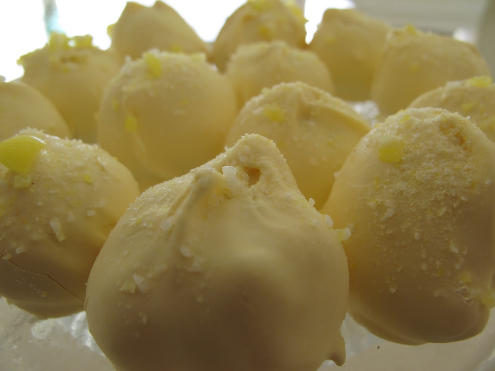 Sugared Lemon Zest