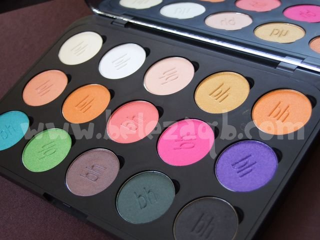 Paleta BH Cosmetics 15 colors