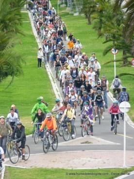 BiciCaravana Calle 26 Humedales Bogotá