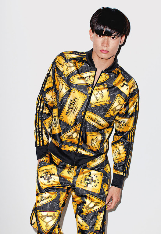 *看著都暈頭轉向了:adidas Originals x Jeremy Scott 2013 喧嘩秋冬 23