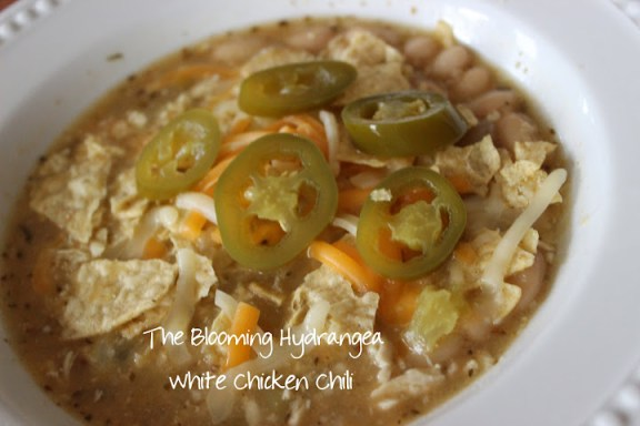 white chicken chili jalepenos
