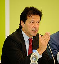 Pakistan's Imran Khan