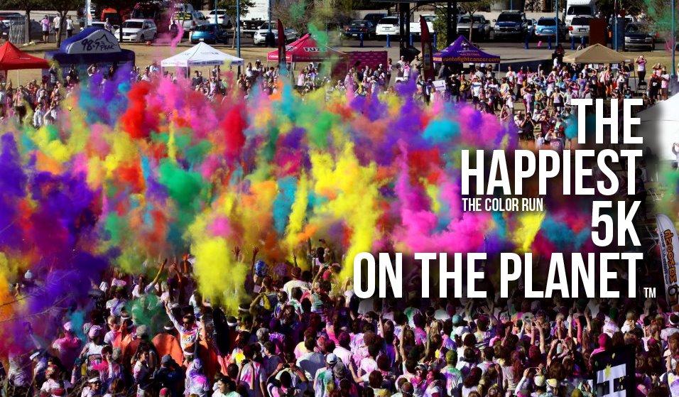 *The Color Run:地球上最快樂的5K路跑! 1