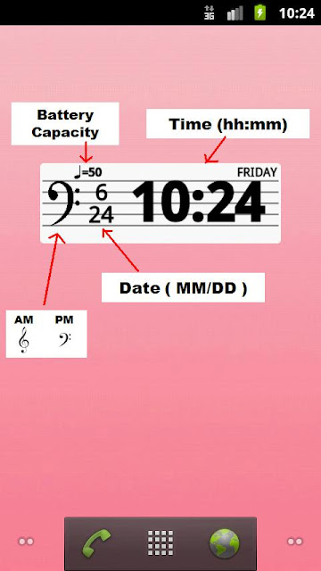 #Musical Clock Widget:熱愛音樂的人都愛用的桌面時鐘 (Android App) 3