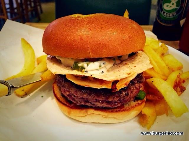 Honest Burgers Quesadilla Special