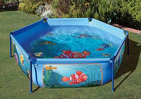 Piscina redonda tubo acero gre cuidados plantas y geranios for Filtro piscina carrefour