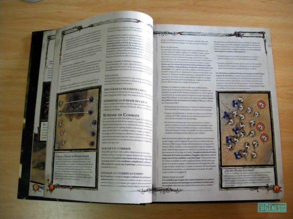 Vista de página de reglas del manual.
