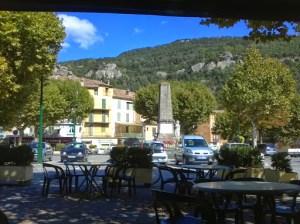 Café du Commerce, Place de la Mairie, Annot