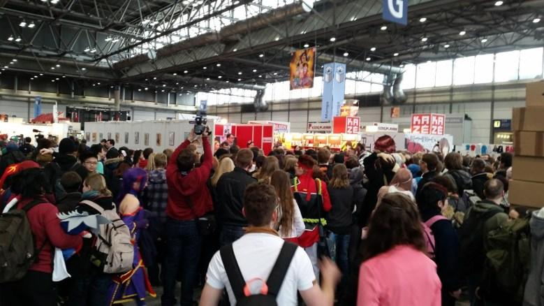 Manga Comic Convention 2015 LBM MCC Leipziger Buchmesse Cosplay Tokyopop Ansturm Takeshi Obata Mayu Sakai