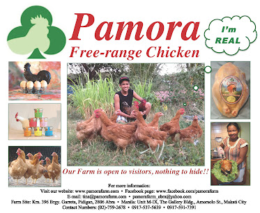 Pamora free-range chicken