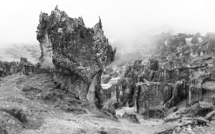 Hatun Machay Rocks