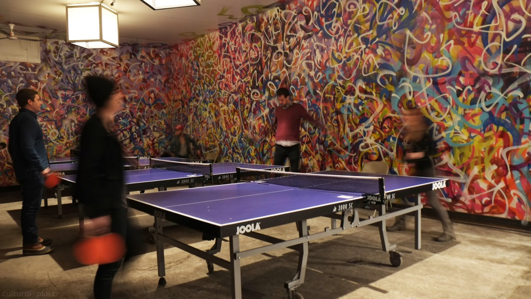 Brooklyn Night Bazaar Ping Pong
