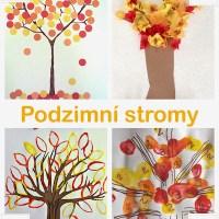 Podzimní tvoření pro dvou a tří leté děti