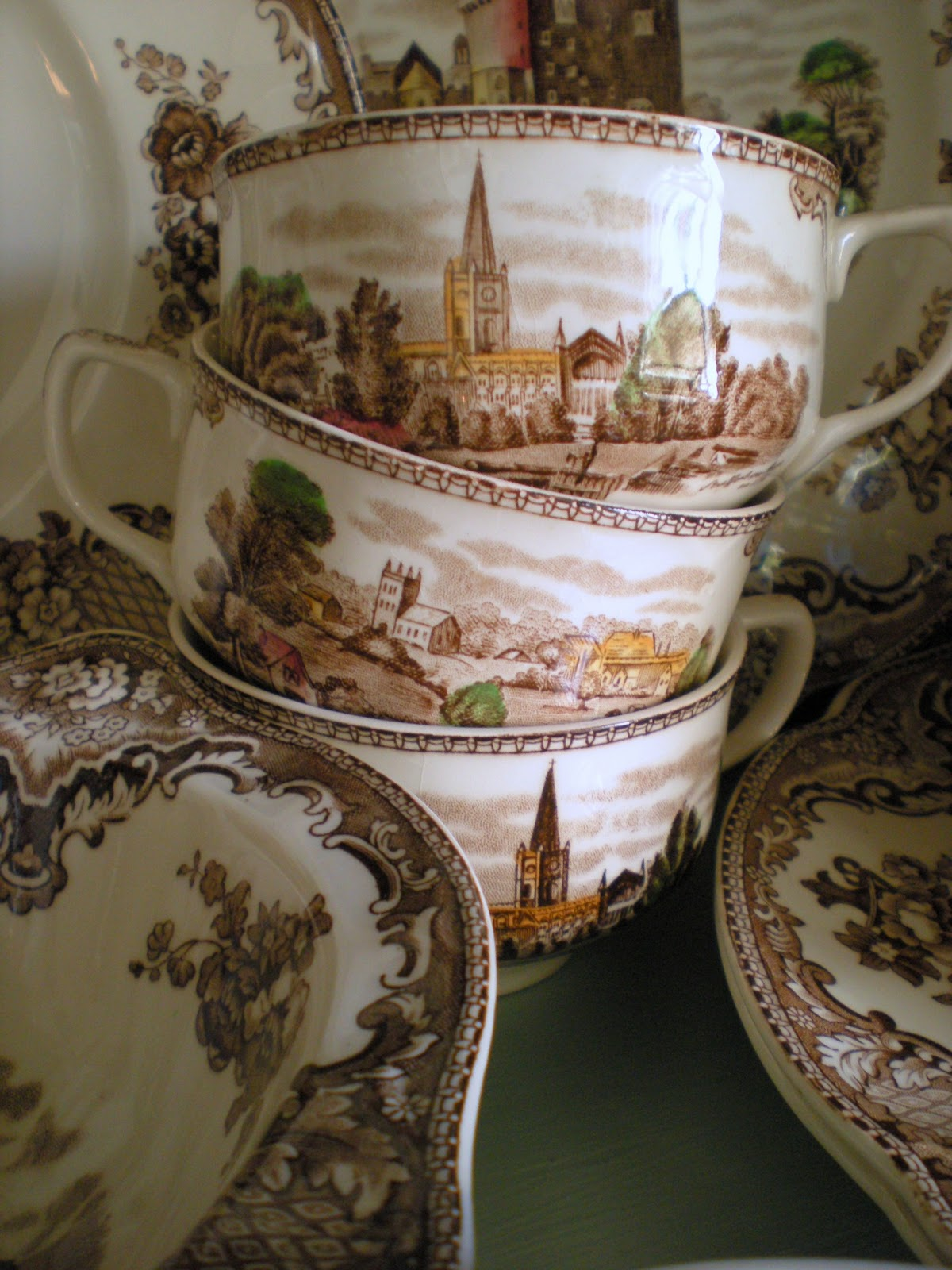 Johnson Brothers Old Britain Castles Christmas China