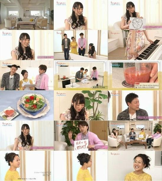 (TV-Variety)(720p) レシピ・アン 松井咲子(前編) 150404