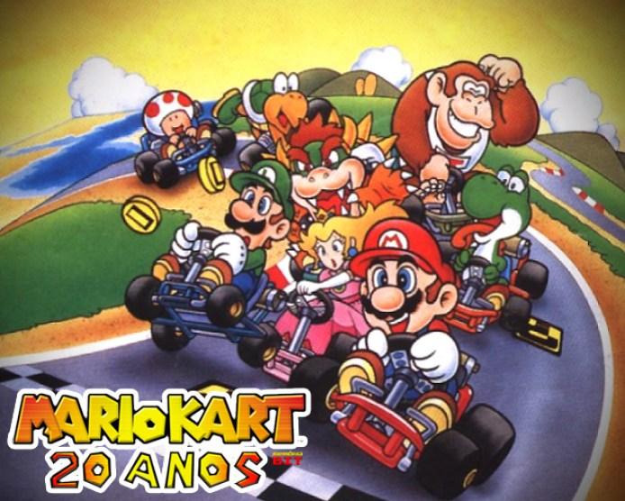 Super Mario Kart 20 anos