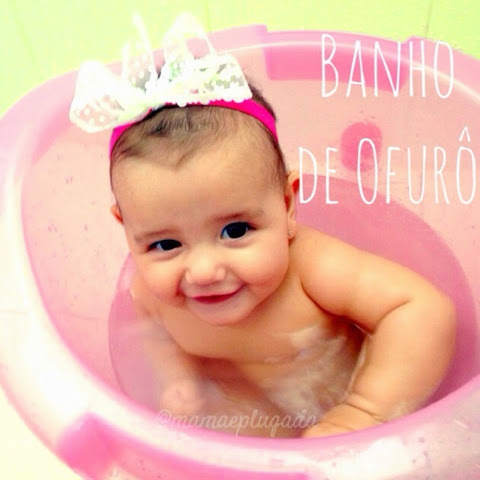 Banho de Ofurô em bebês