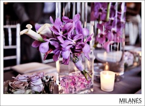 orchid centerpieces