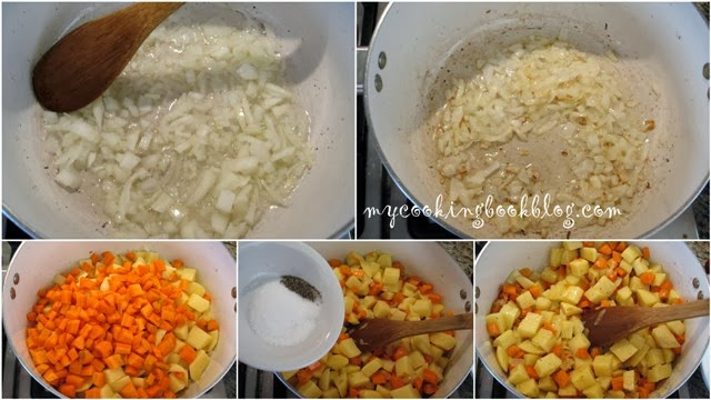 Супа от картофи и моркови