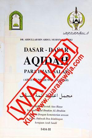 Buku-Dasar-Dasar-Aqidah-Salaf-Ahlussunnah-Waljamaah-DR-Abdullah-bin-Abul-Muhsin-at-Turki
