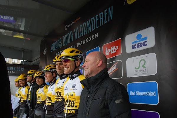 Team Lotto NL Jumbo en José Debels