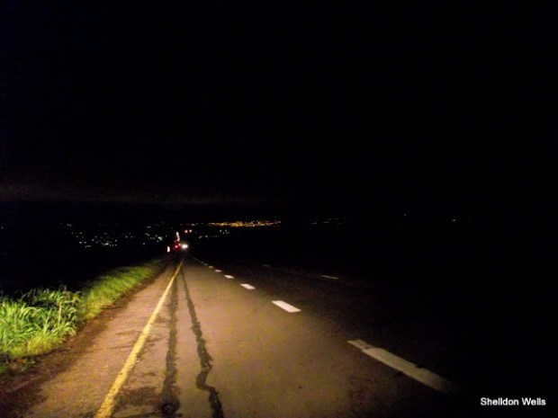 Pietermaritzberg in the Distance at 4am in the Morning