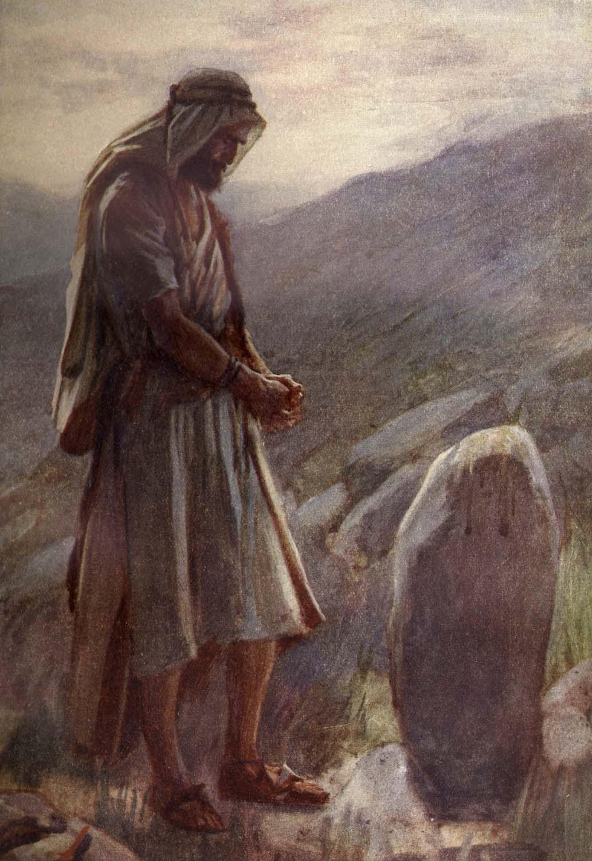 Bible Stories Jacob Bible Vector