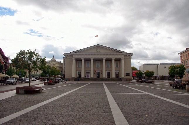 Qué ver en Vilna. Ayuntamiento de Vilna, Vilnius