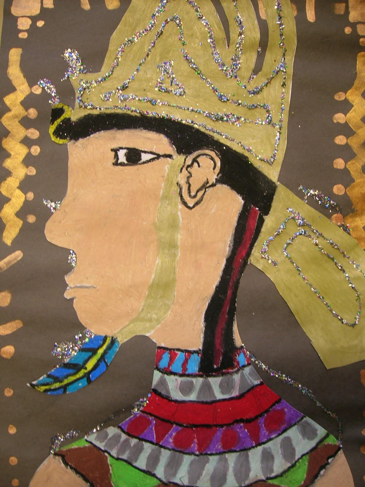 The Elementary Art Room Egyptian Portraits