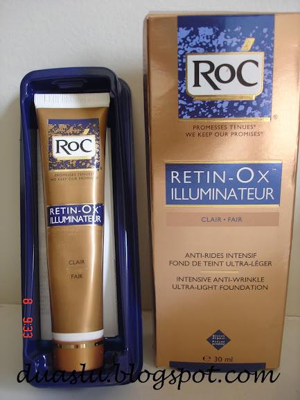 Resenha do Retin-Ox Illuminateur Clair da Roc