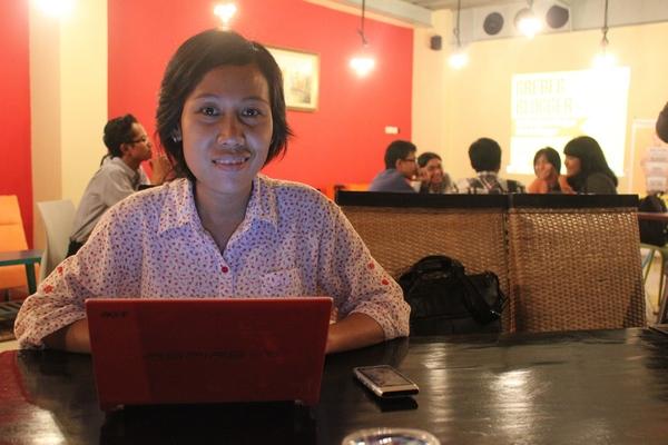 Saya Lagi ikutan Speed Blogging di Grebeg Blogger
