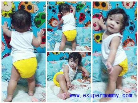 Filipino Baby Girl at Nine Months