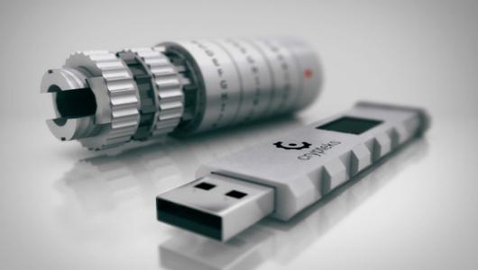 Cryptex Flash Drive