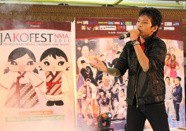 Peserta Kompetisi Nyanyi Jakofest 2011