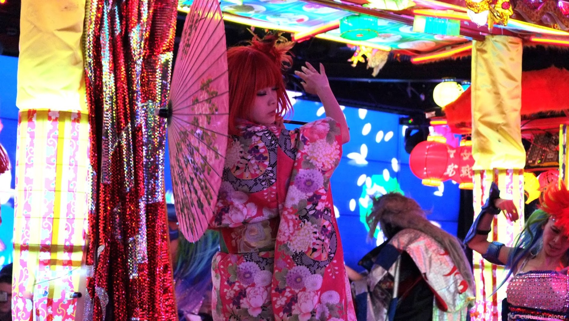 Japanese woman Robot Restaurant