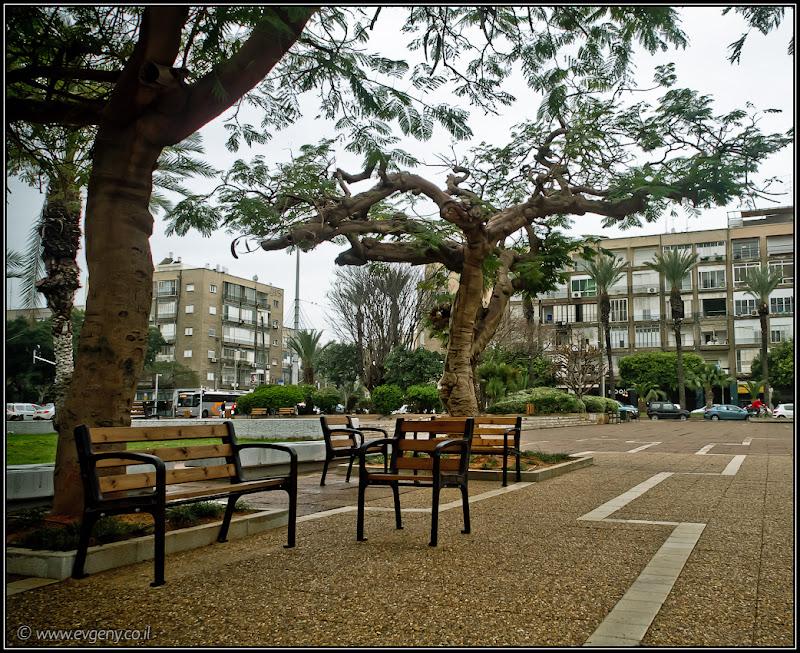 Одно фото / Израиль, Тель Авив, площадь Рабина