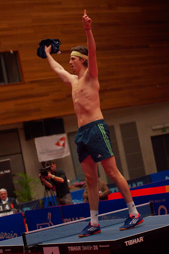 Lauric Jean is Belgisch Kampioen tafeltennis