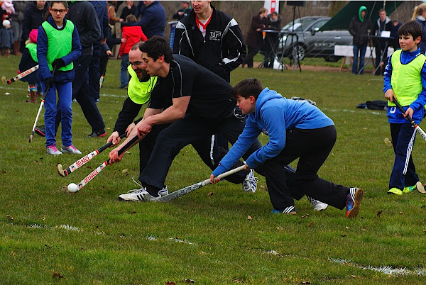 wedstrijd hockey in Roeselare